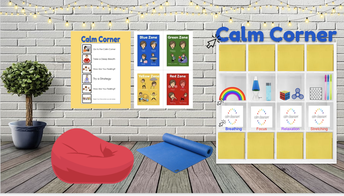 """Access One of Our Virtual """"Calm Corners"""""""