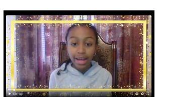 Book Talk-6th Grade student