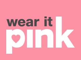 Wear PINK Friday!