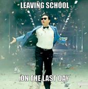 LAST DAY = HALF-DAY
