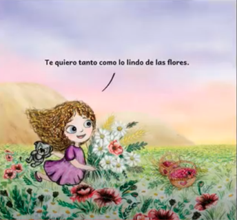 Te Quiero Como lo Lindo de las Flores