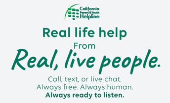 California Parent & Youth Helpline