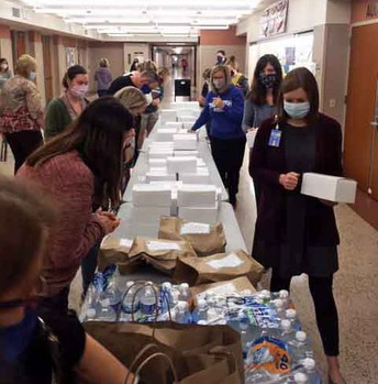 PTA Treats Staff to Lunch