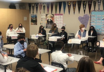 """AP Euro role play significant historical figures during a """"press conference"""" activity.  The epitome of authentic assessment!"""