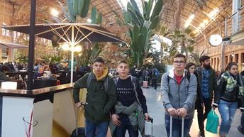 Interior da Estação de Atocha.