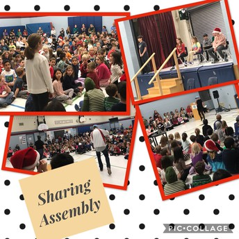 Lots of laughter and fun at our final sharing assembly of 2019!