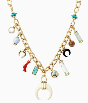 Leyla Charm Necklace