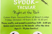 Spooktacular in the Park/ Oct 19/ 5:30-8:30pm
