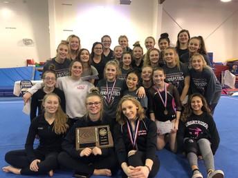 KnightRiders Gymnastics Take EDC Title