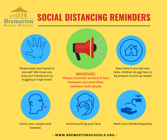 Social Distancing guidelines remain in place