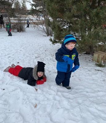 Outdoor fun in Pathways!