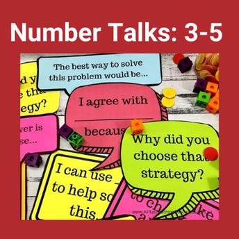Number Talks: Grades 3-5