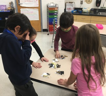 These students learned about animal habitats in a Picture Perfect STEM lesson!
