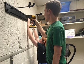 Student Maintenance Workers are helping to get schools ready