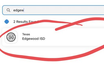 Search for Edgewood ISD