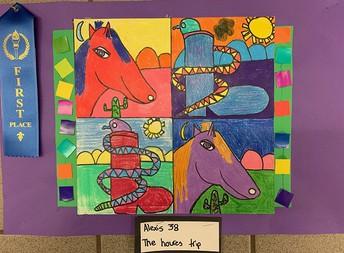 Third Grade, 1st Place
