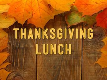 2019 Sterling School Thanksgiving Lunch