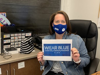 #BlueUp on October 5th