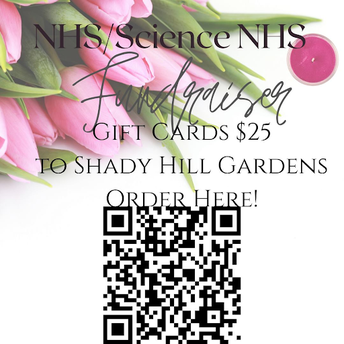 NHS & Science NHS Shady Hill Gift Card Fundraiser