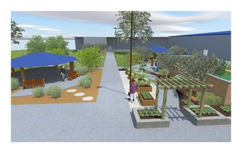 OUTDOOR CLASSROOM PROJECT RECEIVES WELLMARK MATCH GRANT