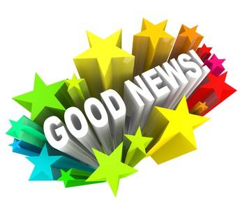 HAPPY NEWS!