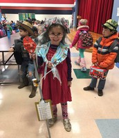 Kindergarten celebrates the 100th day of school!