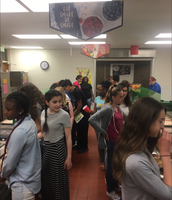 Final Lunch as Middle School Students