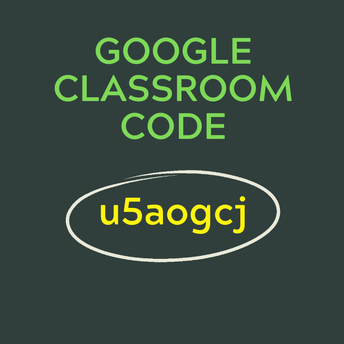 Join Google Classroom for the latest info!
