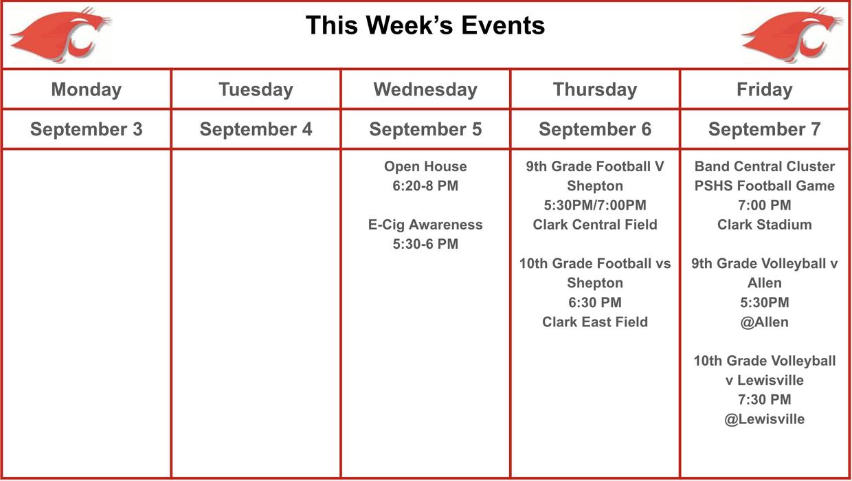 Clark High School eNews   Smore Newsletters
