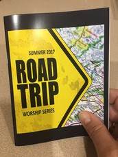 Road Trip Worship Series Passports