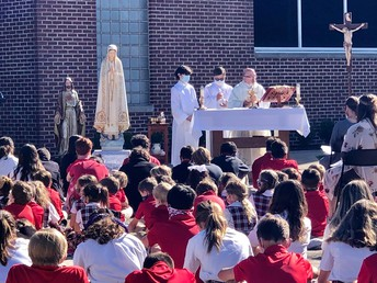 MAY AND JUNE BIRTHDAY MASS CELEBRATED LAST WEEK