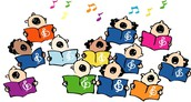 Choir practice-Every Friday at Lunch recess-Music Room