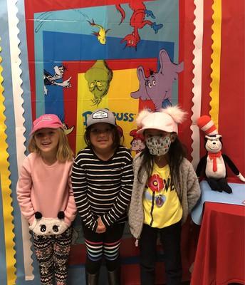 Hat Day for Read Across America Week
