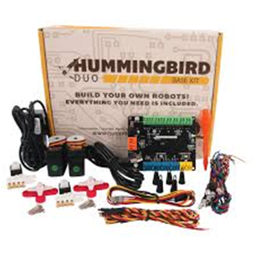 BIRDBRAIN TECHNOLOGIES HUMMINGBIRD DUO ROBOTIC KIT