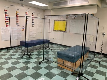 Expanded Nurse's Office for Isolation