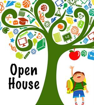 Kindergarten Open House on March 11 at 7 PM