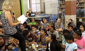 6th Grade Author Visit