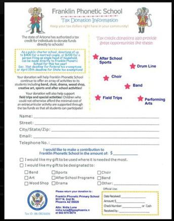 Tax Donations