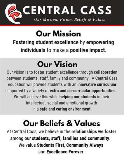 Central Cass Mission Statement