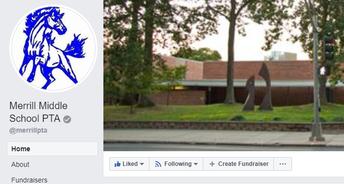 Follow PTA on Facebook