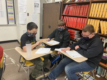 7th Graders Learn About Poetry