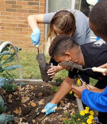 Junior Master Gardeners in the Making