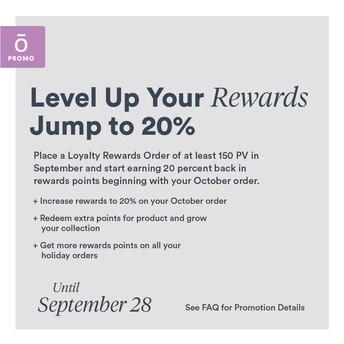 Level up your rewards