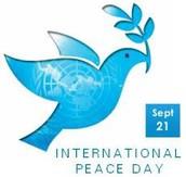 International Day of Peace (September 21)