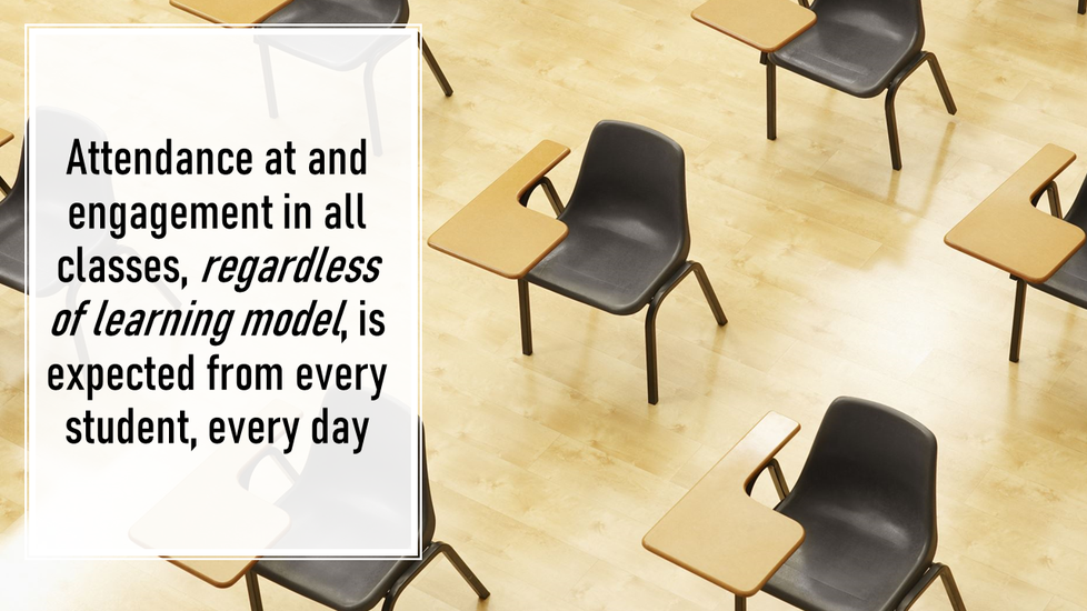 Image: Attendance and Engagement Expected of All Students Every Day
