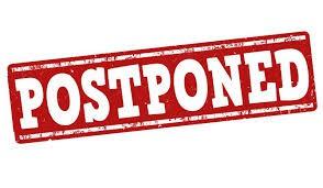 Postponed Grade Level Meetings
