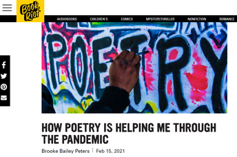 Teacher Resources- How Poetry is Helping Me Through the Pandemic