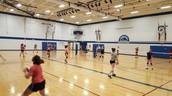 Volleyball skills assessment