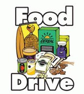 Food Drive              Dec. 6th -20th