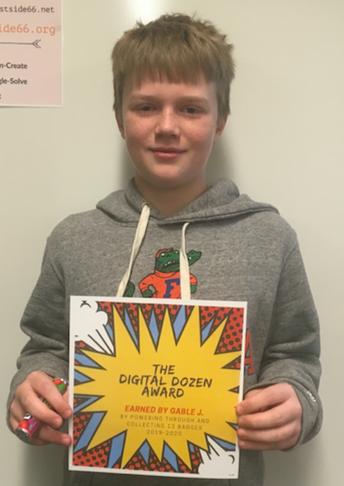 Another Digital Dozen - Way to Go Gable!